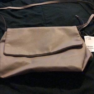 H&M grey purse